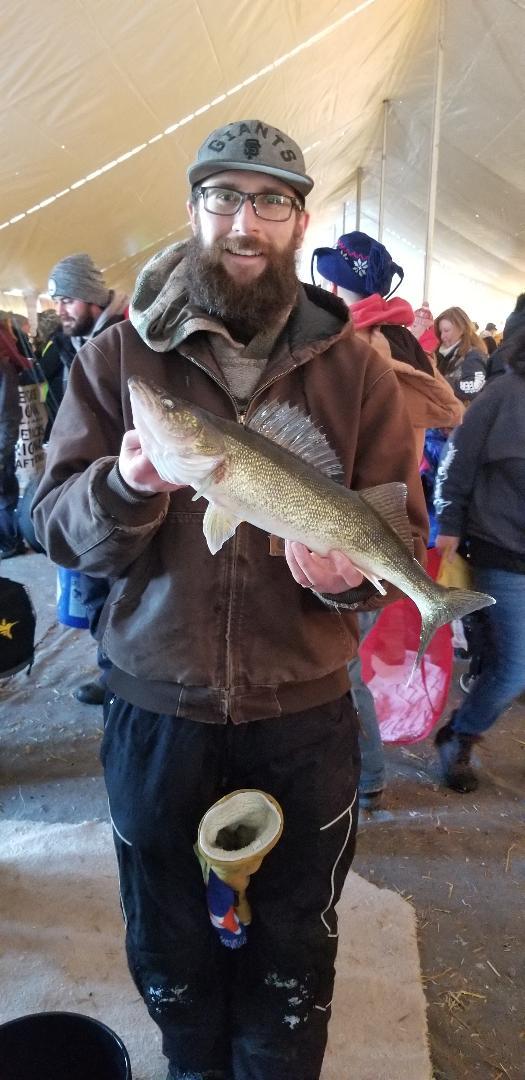 3.11 lbs Walleye