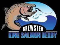 Brewster King Salmon Derby 2021 Logo